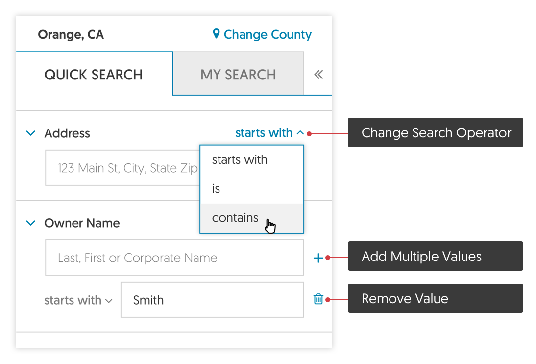 using-quick-search